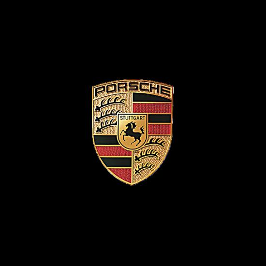 Autocollant emblème Porsche
