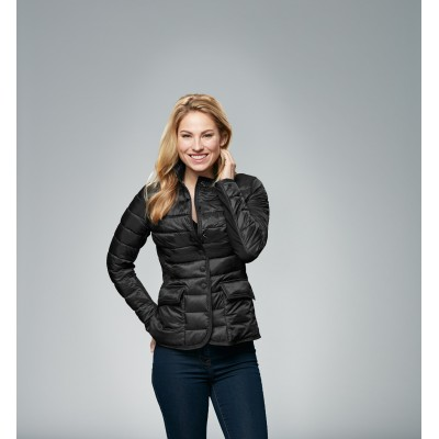 Women's nylon sweat jacket