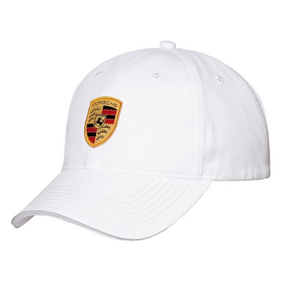 Porsche Crest cap - Heritage Collection Black or White