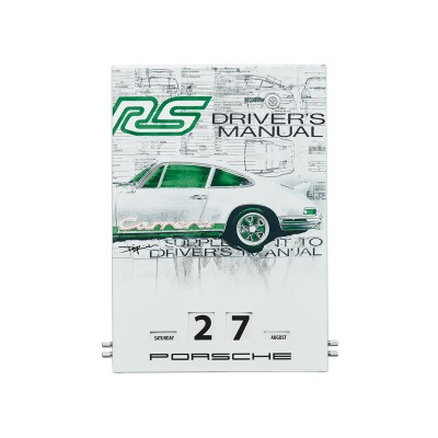 Enamel calendar – RS 2.7 – limited edition